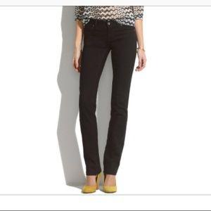 Madewell Rail Straight Jean